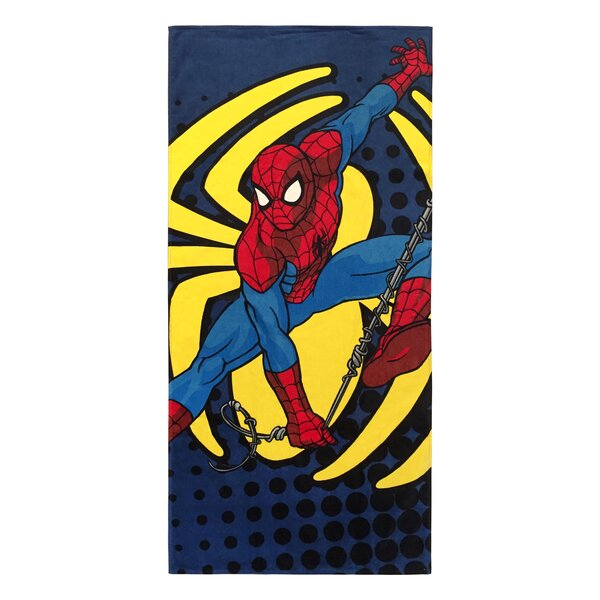 Marvel Spiderman 100% Cotton Beach Towel by PBS Kids